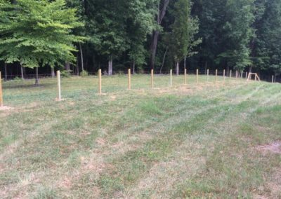 Farm fencing for ranch
